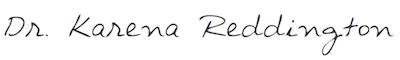 Dr. Reddington - Signatur